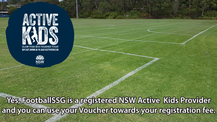 FootballSSG is proudly not-for-profit and is a registered NSW Active Kids Provider